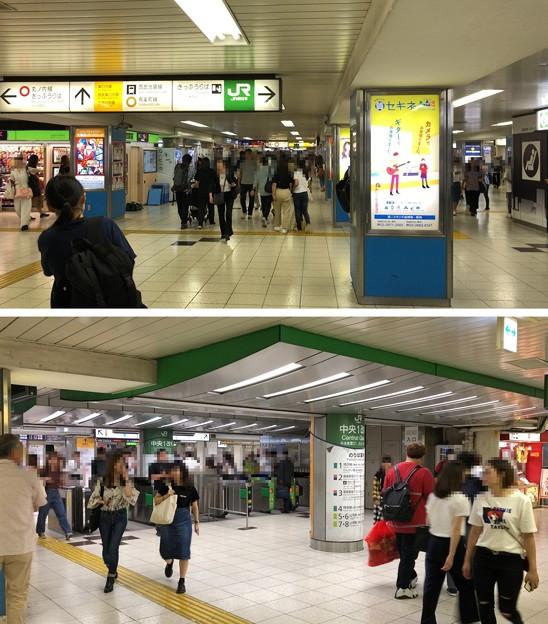 池袋駅構内 JR中央1改札外・西武池袋線方向(豊島区)