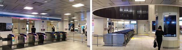 西武池袋線1階改札(豊島区)