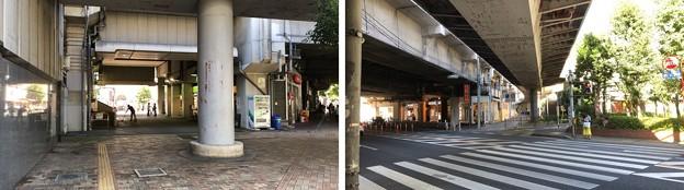 JR埼京線北与野駅(さいたま市中央区)南口~ガード北方向