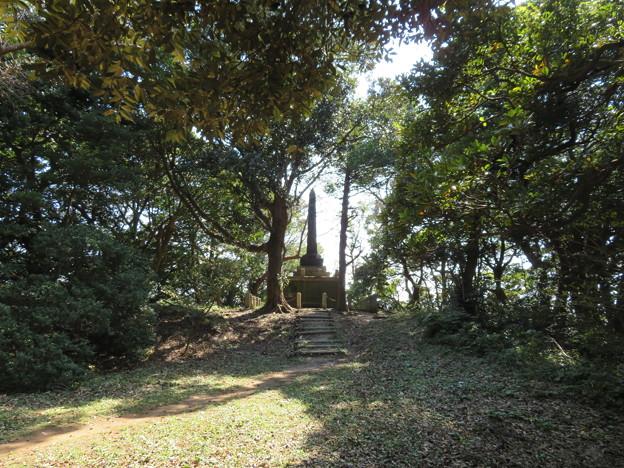 浦賀城/叶神社(横須賀市)招魂塔