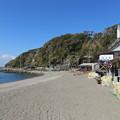 写真: 荒井浜海水浴場(三浦市)