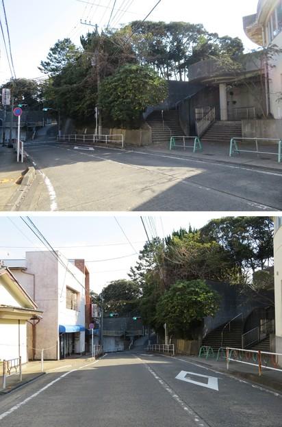 三崎城(三浦市)堀切・西郭