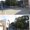 写真: 三崎城(三浦市)堀切・西郭