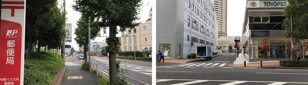 JR埼京線北与野駅(さいたま市中央区)南口~中山道上り