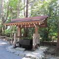 写真: 鶴岡八幡宮(鎌倉市)白旗神社手水舎