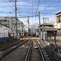 写真: 江ノ電江ノ島駅(藤沢市)藤沢方面