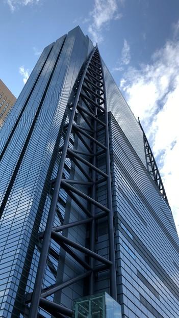日テレタワー北西(港区東新橋)