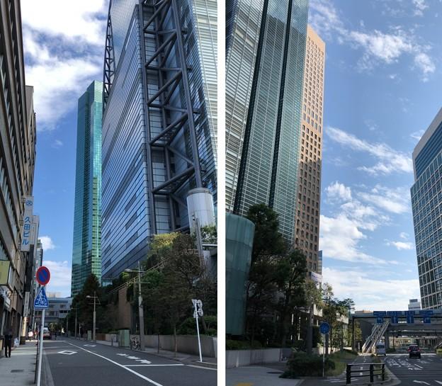 日テレタワー南西(港区東新橋)