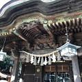 写真: 白幡神社(藤沢市)拝殿