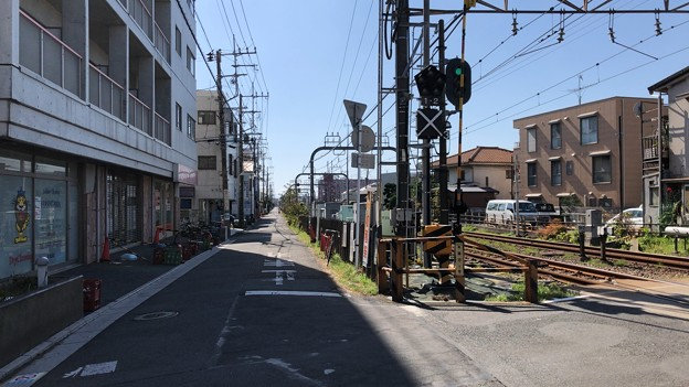 小田急江ノ島線 本鵠沼駅(藤沢市)東口から南