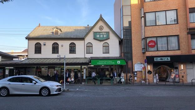 鎌倉駅西口(江ノ電西口。鎌倉市)