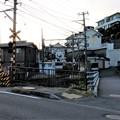 Photos: 七里ガ浜高校前踏切より(鎌倉市)江ノ電七里ヶ浜駅方向