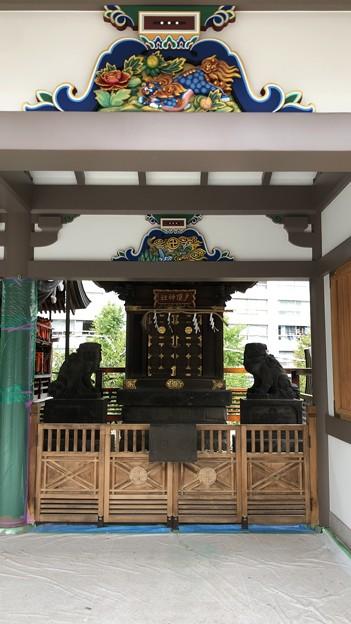 湯島天満宮(文京区)戸隠社