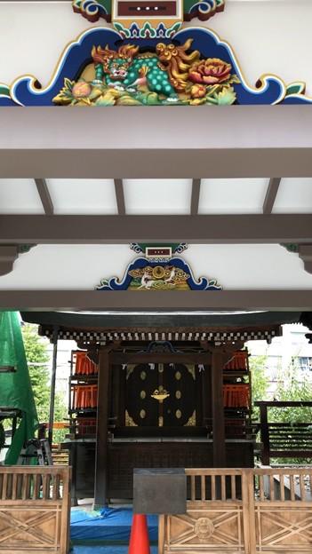 湯島天満宮(文京区)稲荷社