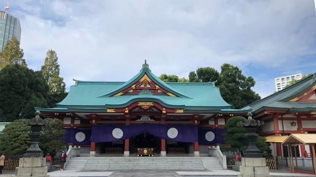 山王日枝神社(千代田区永田町)拝殿