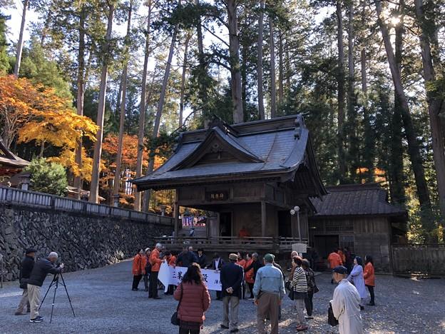三峯神社(秩父市)神楽殿