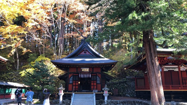 三峯神社(秩父市)祖霊社