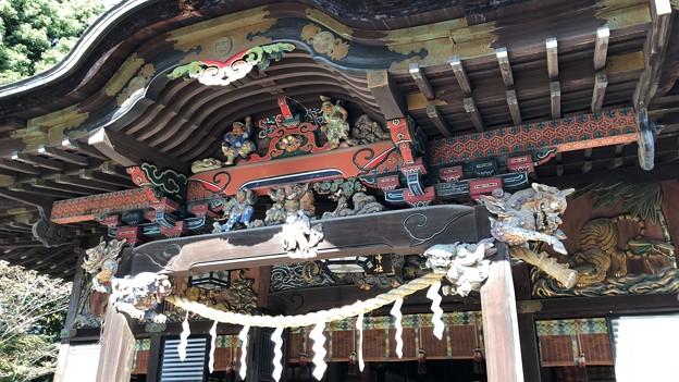 秩父神社(秩父市)拝殿