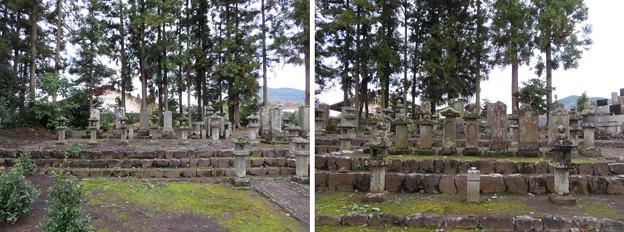 蔵林寺(秦野市)米倉丹後守一族墓所