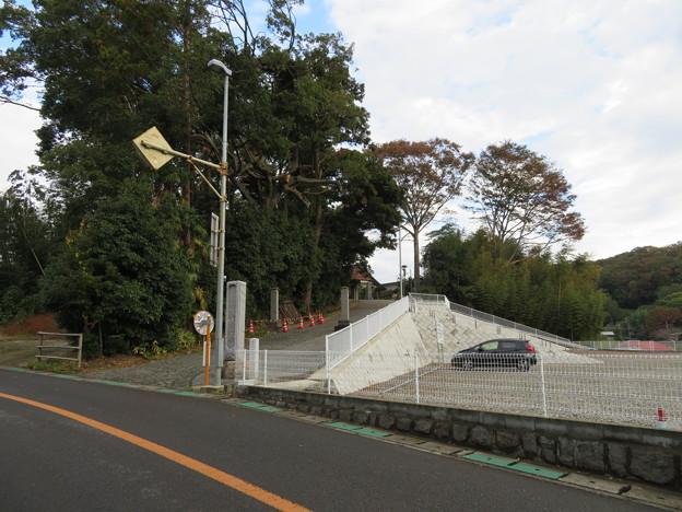 米倉寺(神奈川県足柄上郡中井町)参道