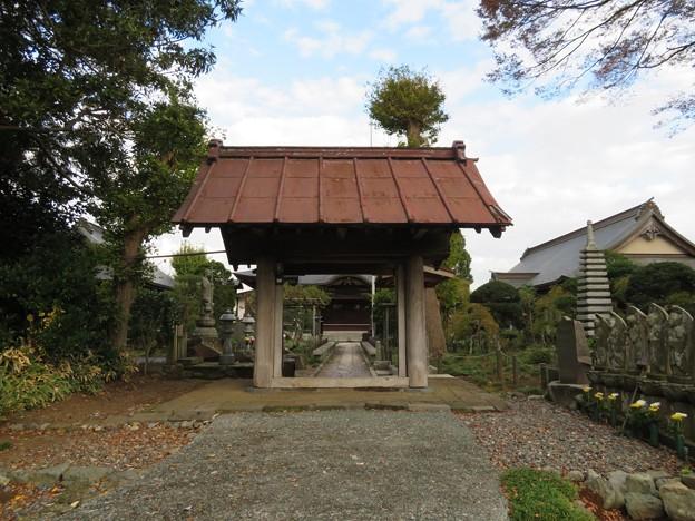 米倉寺(神奈川県足柄上郡中井町)山門