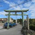 写真: 宗我神社(小田原市)大鳥居