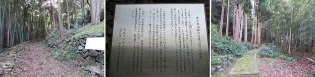 河津三郎祐泰血塚(伊東市)旧下田街道