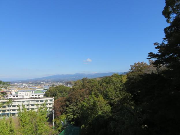 韮山城(伊豆の国市)より駒ヶ岳?