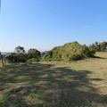 写真: 興国寺城(沼津市)桝形