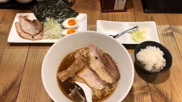 焼きあご煮干ラーメン きち(竹ノ塚)