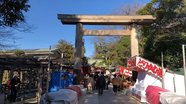 久伊豆神社(越谷市)木造鳥居