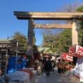 Photos: 久伊豆神社(越谷市)木造鳥居
