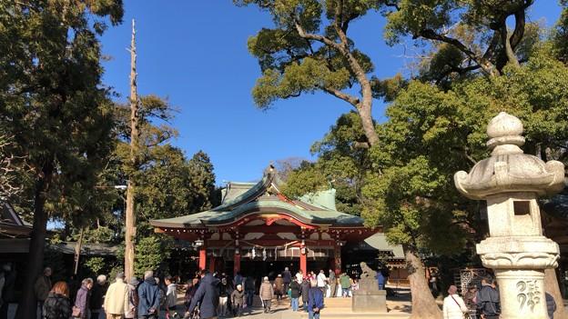 久伊豆神社(越谷市)社殿