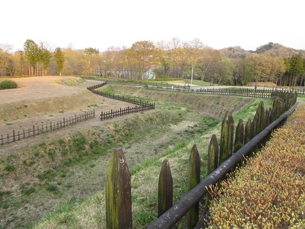 鉢形城(鉢形城公園。埼玉県寄居町)