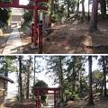 大蔵館土塁/大蔵神社(嵐山町)