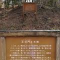 菅谷館三郭(嵐山町)正坫門・木橋