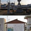 神流川古戦場(高崎市)新町宿神流川渡場 見通灯籠