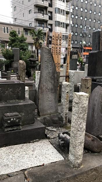 善性寺(東日暮里)烈士彰義隊 亀田氏・岸氏之碑