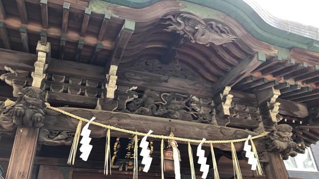 小野照崎神社(下谷)拝殿
