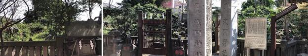 小野照崎神社(下谷)富士塚