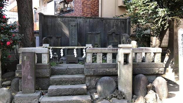 小野照崎神社(下谷)庚申塚