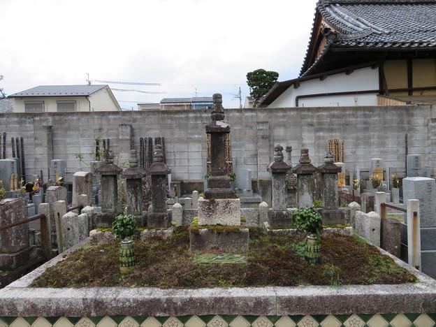 Photos: 興聖寺(上京区)古田織部墓