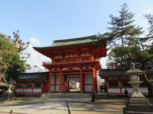 今宮神社(京都市北区)楼門