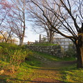 Photos: 淀城(伏見区淀本町)本丸北西隅櫓石垣