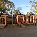 Photos: 淀城(伏見区淀本町)與杼神社末社