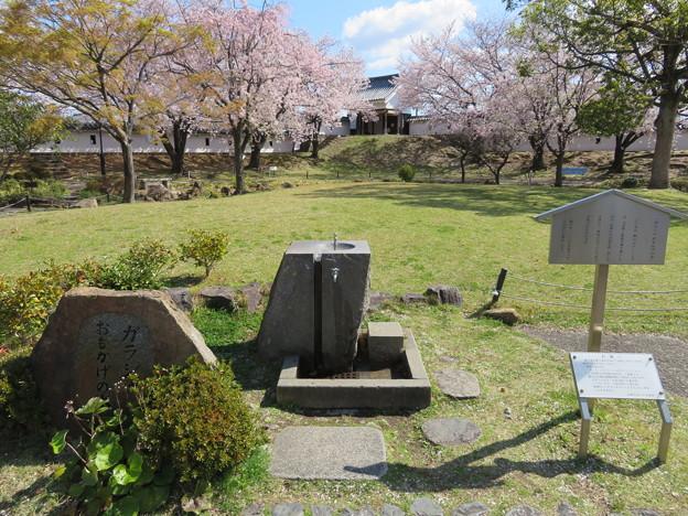 19.04.09.勝竜寺城本丸(長岡京市)ガラシャおもかげの水