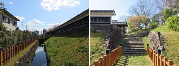 勝竜寺城本丸(長岡京市)北門