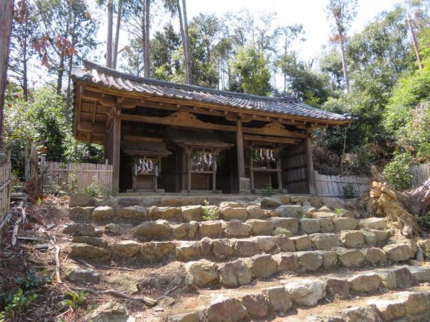 Photos: 天王山 山崎城(大山崎町)酒解神社 三社宮