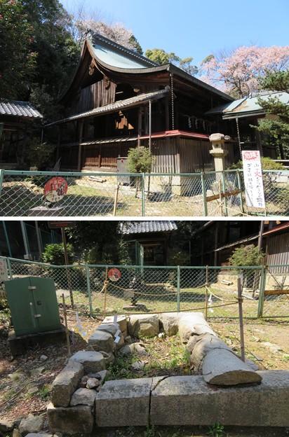 天王山 山崎城(大山崎町)酒解神社