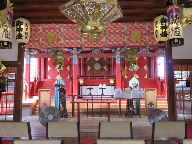 片埜神社(枚方市)拝殿